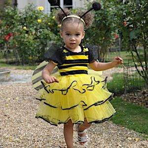 Bumble Bee Girls dress up clothes uk