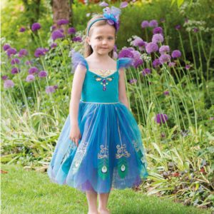 Peacock Fairy Girls dress up clothes