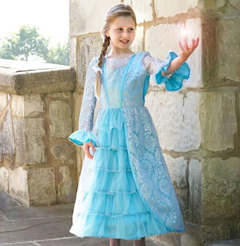 Azure mist princess girls dress up clothes