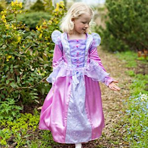 Florentine fleece lined princess dress up for girls