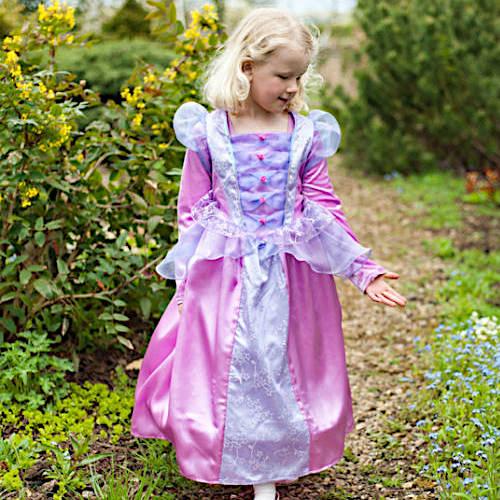 Florentine fleece lined princess dress up for girls