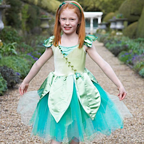 Forest fairy girls dress up clothes
